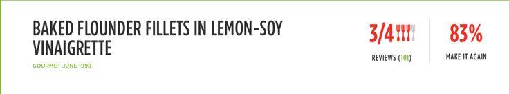 http://www.epicurious.com/recipes/food/views/baked-flounder-fillets-in-lemon-soy-vinaigrette-15169
