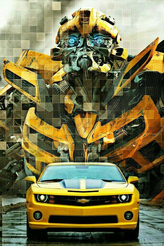 Bumblebee camaro Transformers cars, Transformers optimus