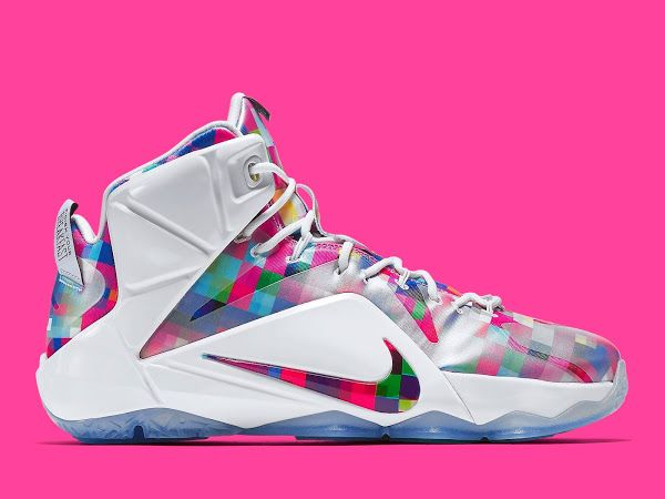 "LeBron 12 EXT ""Fruity Pebbles"" Official Look & Release Info"