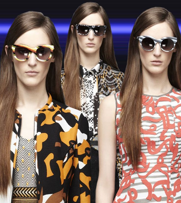 Fashion & Lifestyle: Missoni Sunglasses Resort 2013