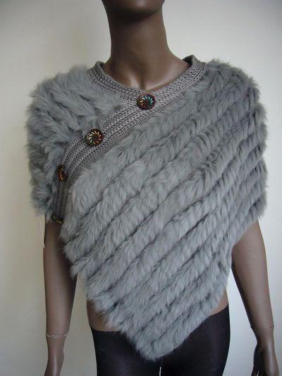 вязание меховыми лентами
