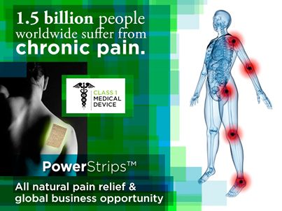 Chronic pain effects so many people. Maybe you are one of them or know a loved one who suffers daily.  For more information on a new all natural product, please go here:  http://fgxpressteaminternational.com/fg-xpress-power-strips-review-fg-xpress-power-strips/