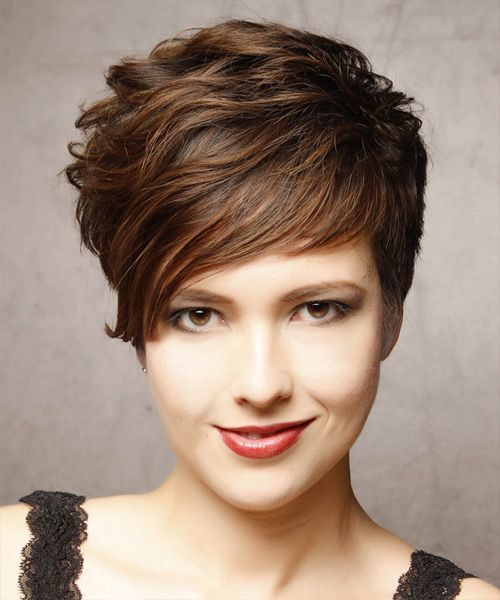17 Best ideas about Short Brunette Hairstyles on Pinterest