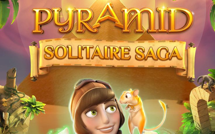 #Pyramid Solitaire Saga by #King: Solve the #ancient #egypt number mistery! Read #mobile game #reviews at http://ola.mobi/ #AndroidGames #iPhoneGames #iOSGames