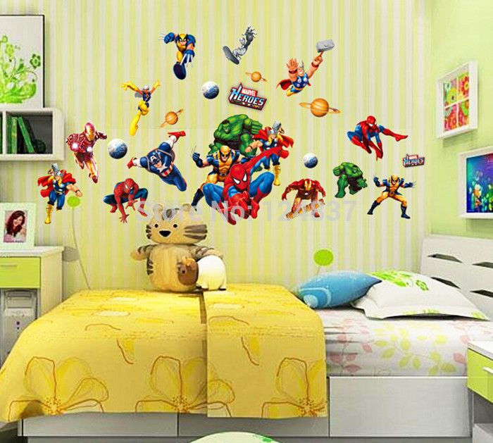 10 best WALL DECALS ::AVENGERS images on Pinterest | The avengers ...