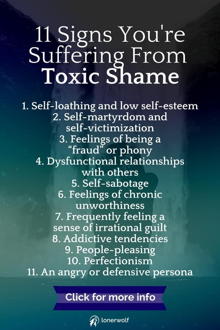 Toxic shame is the internalized and buried shame that rots within us. Get  help now! via @LonerWolf #Gurus
