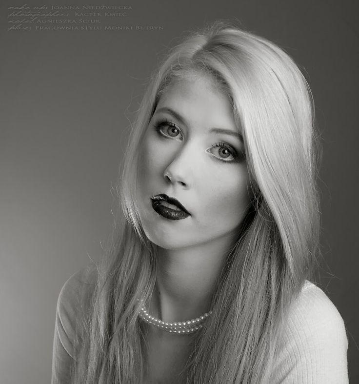 portrait black & white