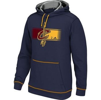 Cavs Cleveland Cavaliers Tip Off Pull Over Hood in navy at the Cleveland Cavaliers Team Shop