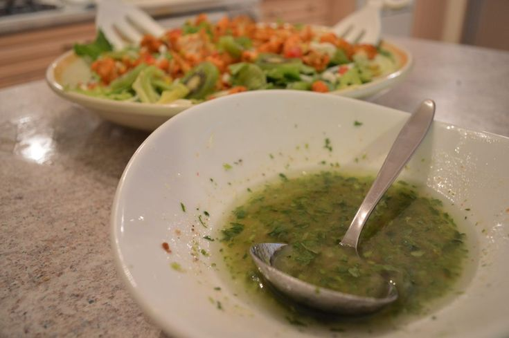 #Popular on our website this weekend: How to Make #Cilantro #Lime #Vinaigrette!   * Subscribe to Cooking With Kimberly: http://cookingwithkimberly.com #cwk