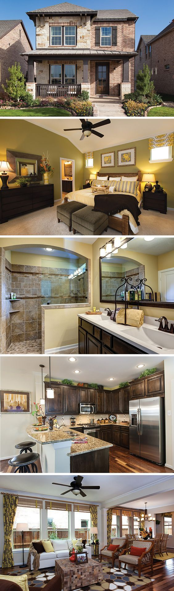 The  Grayton by David Weekley Homes in Viridian Cottage is a 4 bedroom 2 bath home that features a large open kitchen and family room, private covered porch and a large walk-in closet in the owners retreat. Custom home options include a fireplace in the family room, built-in desk cabinets and a larger shower in the owners retreat.