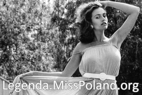 Miss Polonia 1985 Marta Bąk