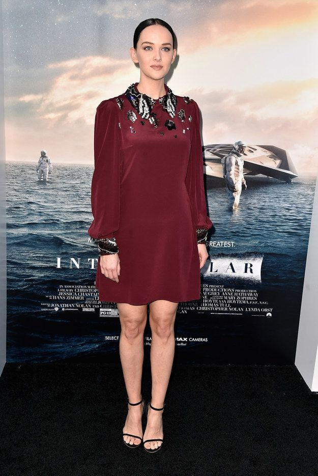 "Jess Weixler At The Hollywood Premiere Of ""Interstellar"""