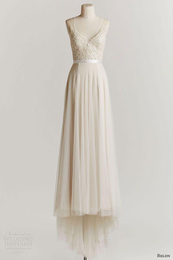 bhldn spring 2015 persiphone sleeveless wedding dress off white beaded bodice scoop neckline
