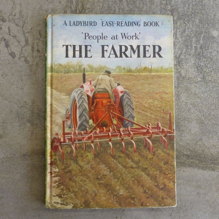 Vintage Ladybird Book  People at Work' The Farmer  Series 606B no.5 The Ladybird Easy Reading Book by I & J Havenhand Illustrated by John Berry Printed 1963 England