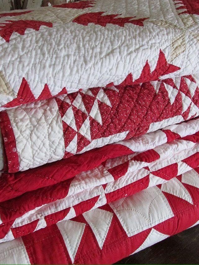 beautiful old quilts