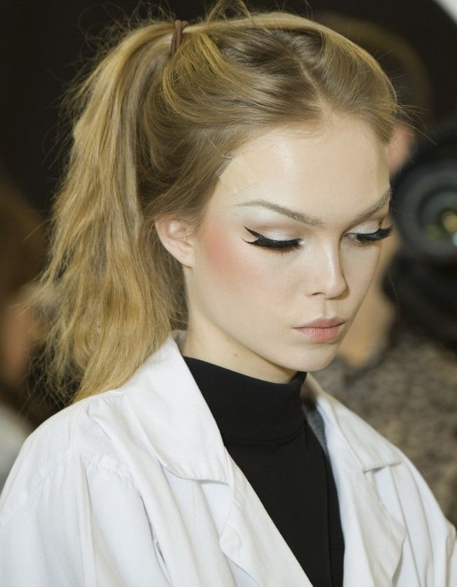winged liner | #makeup