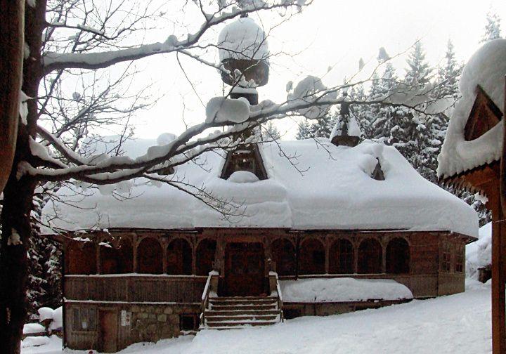 #Sanktuarium na Wiktorówkach zimą. #dominikanie #wiktorówki #tatry #zima #winter #śnieg
