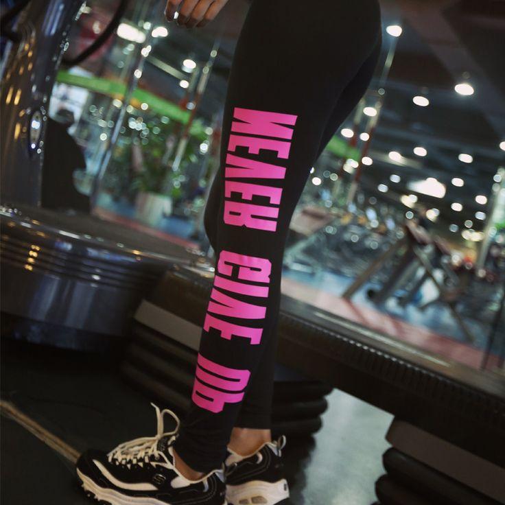 High Waist Elastic Women Leggings