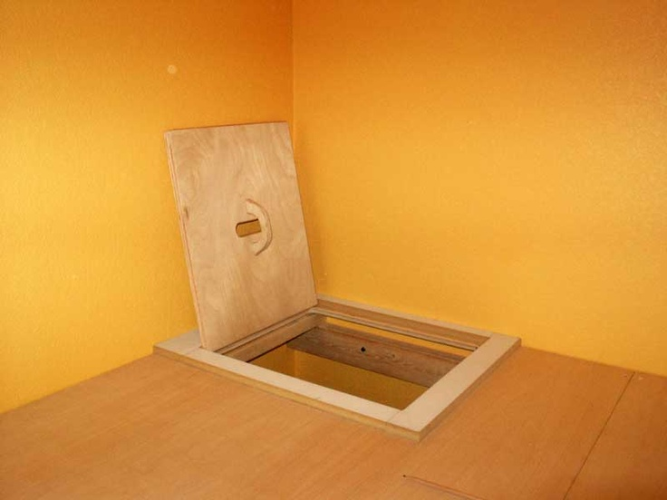 Loft hatch door