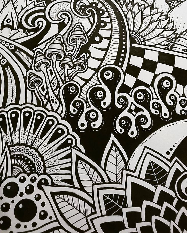 Doodle Art Drawings Trippy Drawings Art Inspiration Drawing