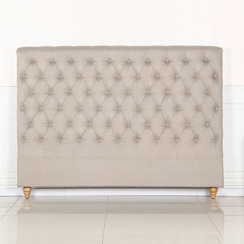 Sean Fabric Bed Headboard in French Provincial Design