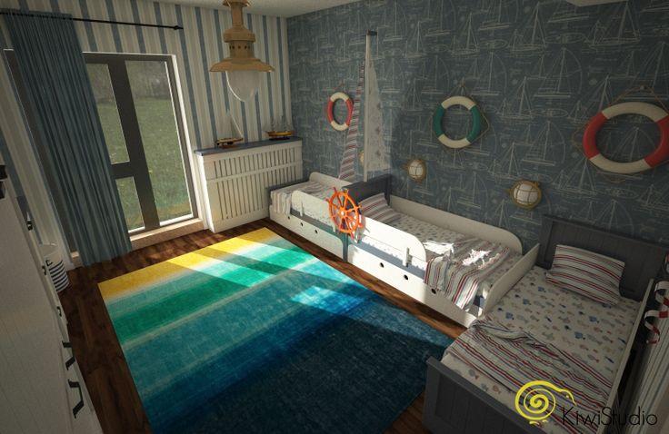 KiwiStudio   Scandinavian pentru apartament mare / camera de copii