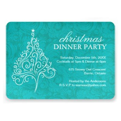 The  Best Christmas Dinner Invitation Ideas On