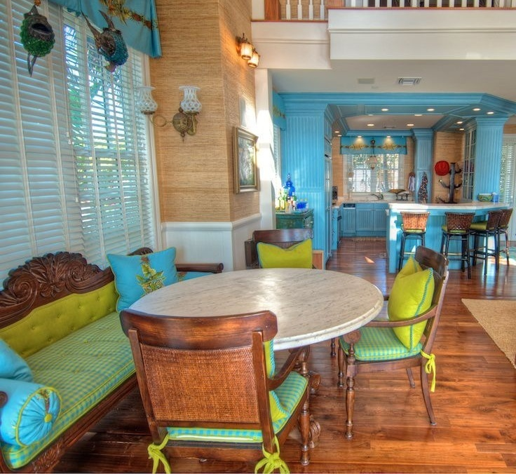 Refreshing ... Bohemian Style Kitchen /dining Area