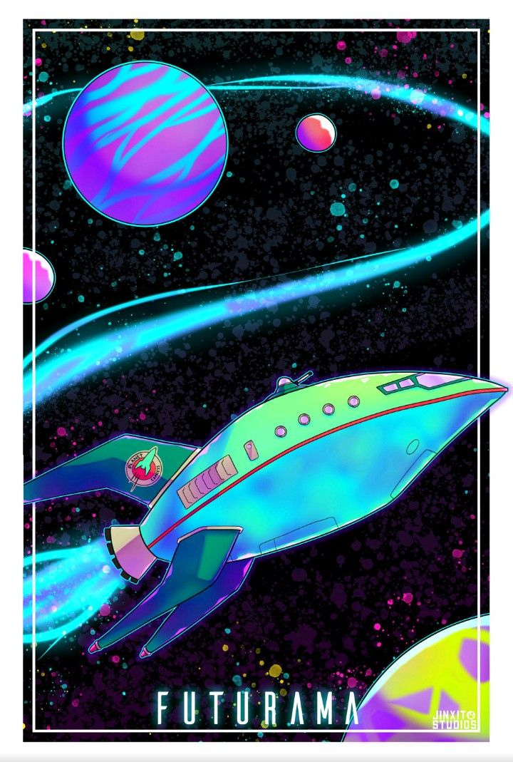 Planet Express Futurama Futurama Cool Cartoons Art
