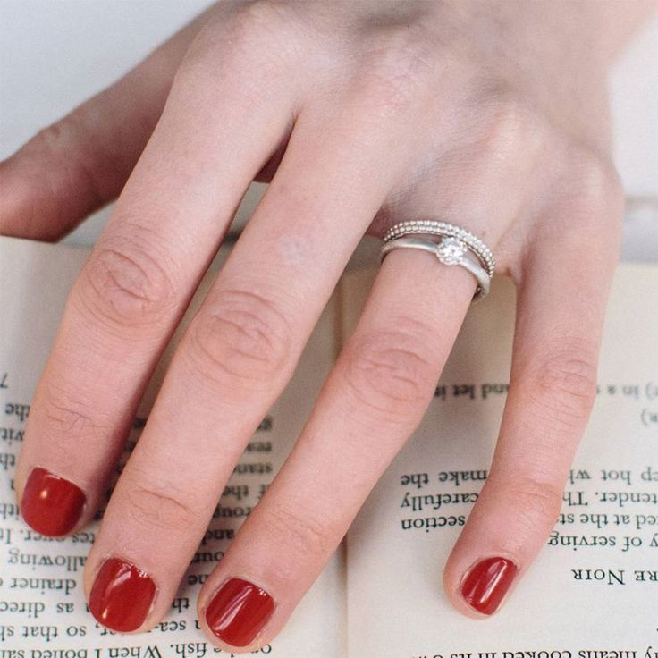 Add Some Texture With The Patterned Wedding Ring From Alison Macleod Which Has Two Bands