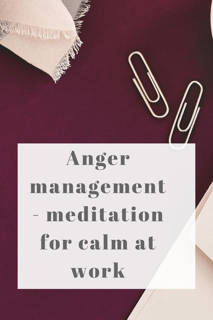 Anger management - meditation for calm | Essential oils ...