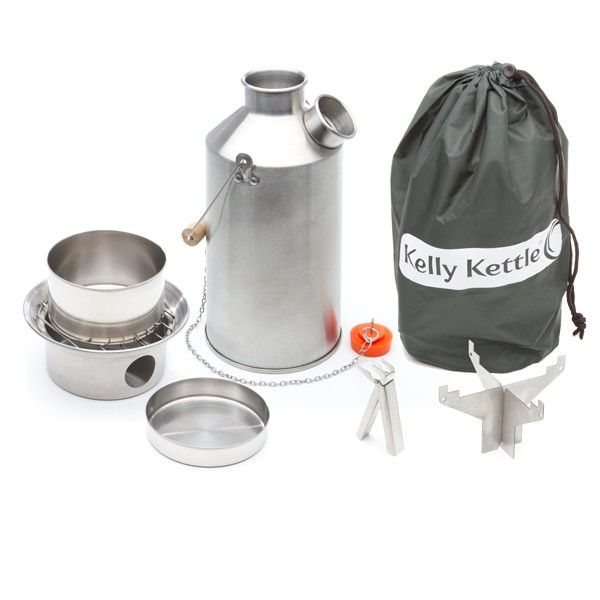 Kelly Kettle® - Original & Best | Camping equipment | Camping gear | Survival kit - SST Base Camp Kettle -full kit | Kelly Kettle - Kits | Kelly Kettle Co. about $100.00 USD
