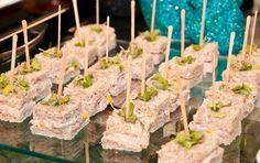 Cardápio de festa: sanduíches e aperitivos finos