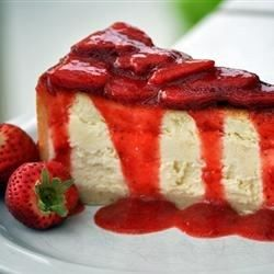 Awesome restaurant-style strawberry topping. Serve cold over cheesecake or ice cream.