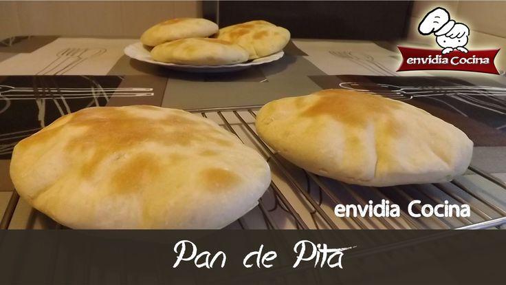 Cómo se hace PAN de PITA, Receta fácil y rápida | envidia Cocina