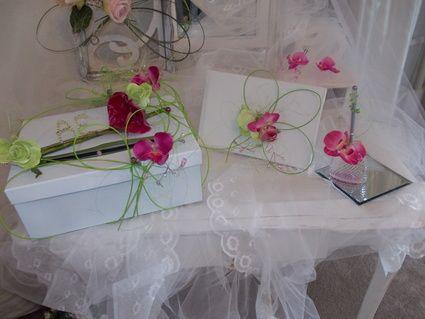 Decorations florales romantique