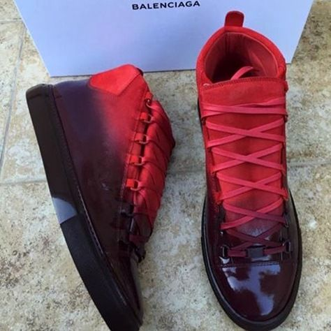 Balenciaga Ombré Arena High-Top Sneakers