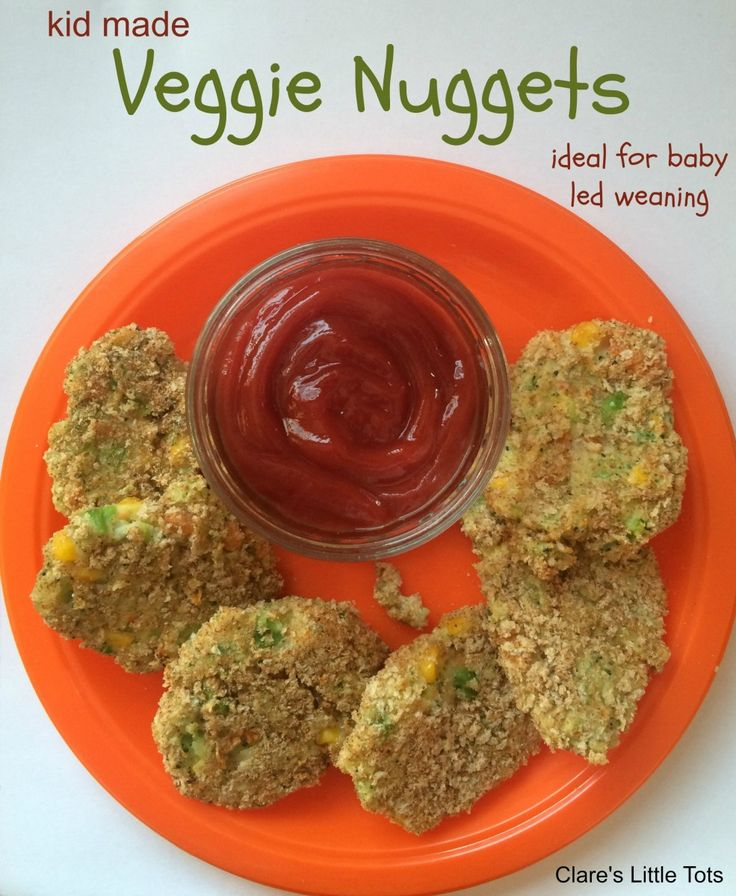 Kid made veggie nuggets recipe. Fun to make and healthy these make the ideal snack or served with a main meal and perfect for baby led weaning and fussy eaters.