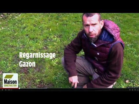 Comment faire un regarnissage gazon - YouTube