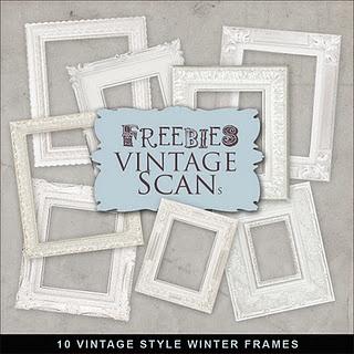 Freebies Illustrations Kit free: Free Frames, Freebies Vintage, Digital Scrapbook, Style Winter, Scrapbook Layout, Freebies Illustrations, Winter Frames, Free Printable, Vintage Style