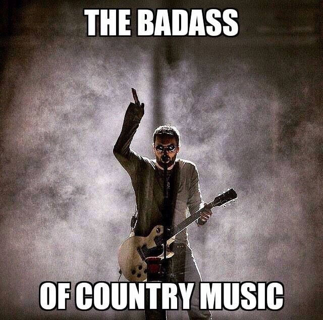 Now days he is as close to an outlaw as we have in Country music. More