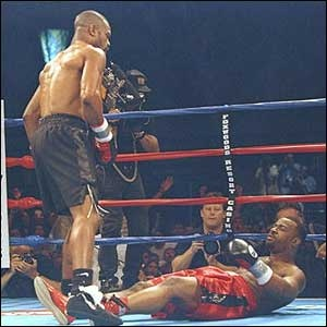 One of my boxing heroes, Roy Jones Jr Knockouts out Montell Griffin
