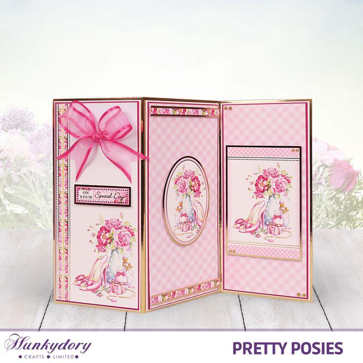 Pretty Posies - Hunkydory | Hunkydory Crafts