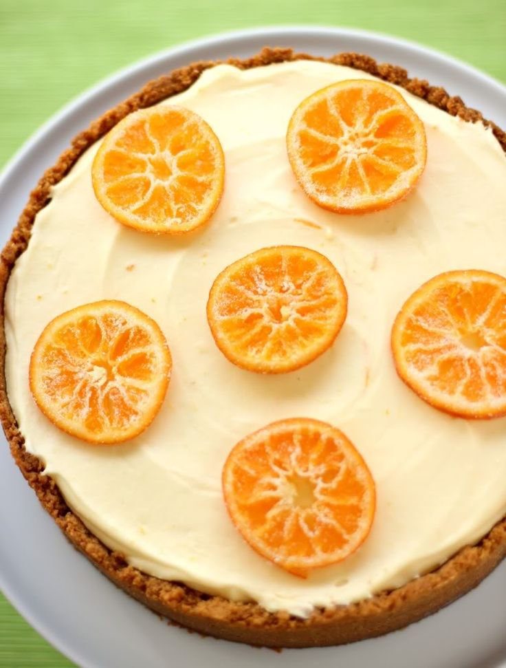 Clementine Mousse Cheesecake  Willow Bird Baking Clementine Mousse Cheesecake is a creamsicle lover's dream. Bright, airy clementine mousse sits atop a smooth, creamy traditional cheesecake in a cookie crust.
