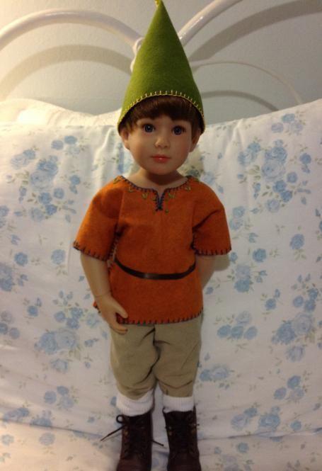 костюм гнома для мальчика