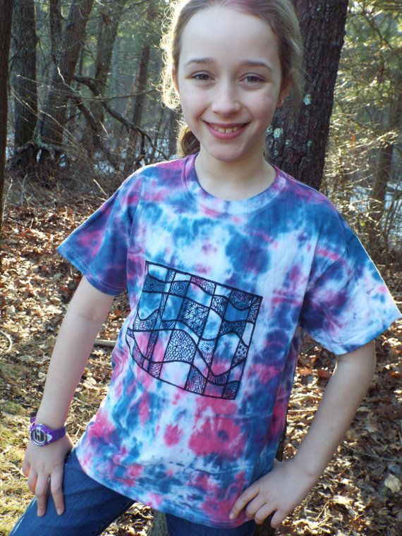 25 unique kids tie dye ideas on pinterest tie and dye vetement hippie kids tshirt with tie dye and zentangle designs from anything on a tie dye at ccuart Image collections