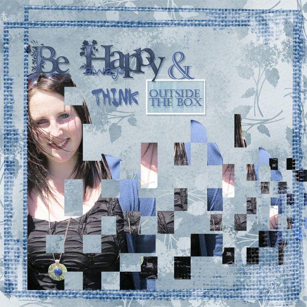 Monday Happy Web - Monday Challenge - Gallery - Scrap Girls Digital Scrapbooking Forum