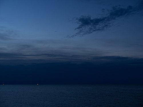 Rainstorm on the horizon