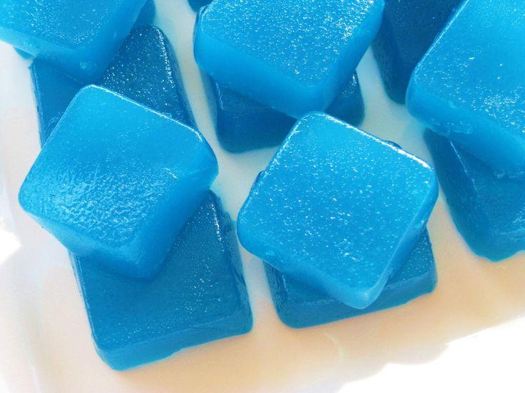 Blue Curacoa Citron Vodka Jello Shots
