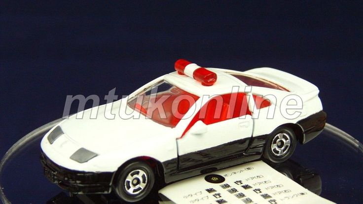 TOMICA 044E NISSAN FAIRLADY Z 300ZX PATROL CAR | 1/59 | CHINA | 044E-02 | ST BOX